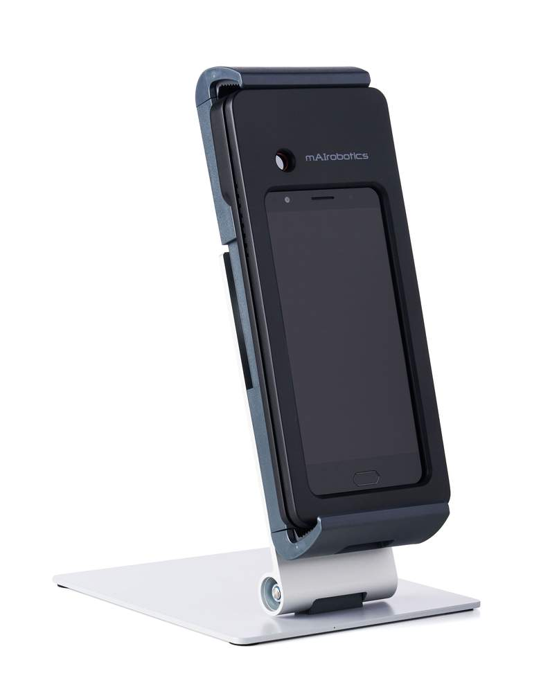 side view of thermal scanner