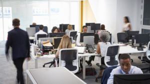 office with employees
